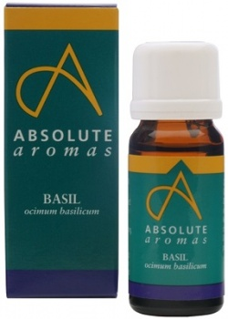 Absolute Aromas Basil Pure Essential Oil