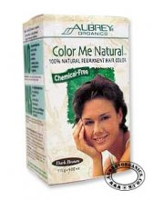 Aubrey Color Me Natural Hair Dye Dark Brown