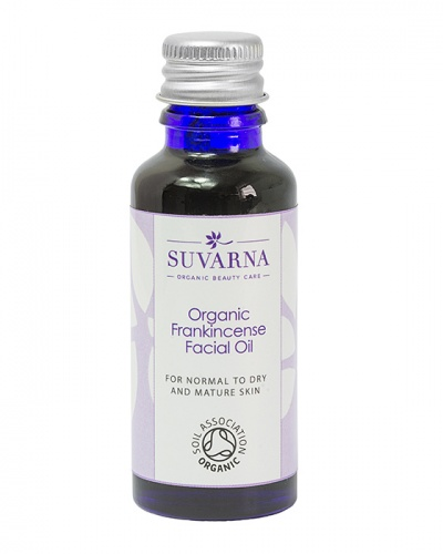Organic Frankincense Facial Oil For Normal to Dry Skin
