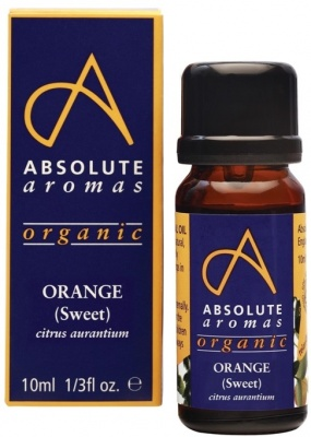 Absolute Aromas Organic Orange (Sweet) Essential Oil