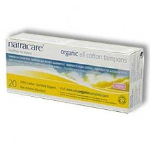 Natracare Organic Cotton Super None-Applicator Tampons (20)
