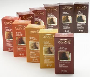 Logona Chemical Free Natural Hair Dye Powders - suvarna.co.uk
