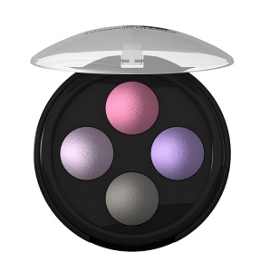 Lavera Illuminating Eyeshadow Quattro	Lavender Couture 02