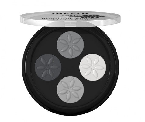 Lavera Beautiful Mineral Eyeshadow Quattro Smokey Grey 01