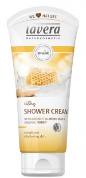 Lavera Silky Shower Cream with Honey and Almond