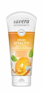 Lavera High Vitality Body Wash - Orange and Mint
