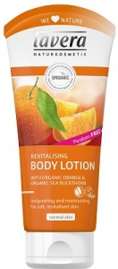 Lavera Revitalising Body Lotion with Orange and Sea Buckthorn