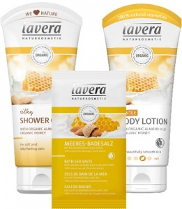 Lavera Organic Milk and Honey Gift Set