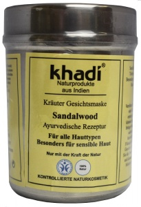 Khadi Sandalwood Herbal Face Mask