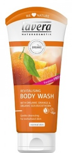Lavera Revitalising Body Wash - Orange