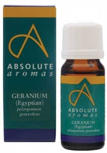 Absolute Aromas Geranium Pure Essential Oil