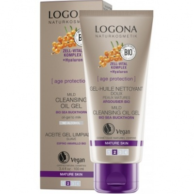 Logona Age Protection Mild Cleansing Oil Gel 100ml