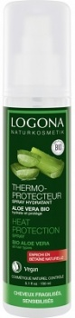 Logona Aloe Vera Moisturising Heat Protection Spray