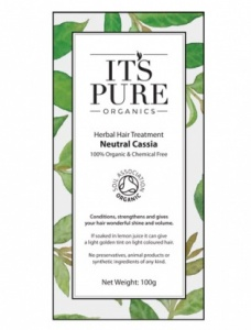 It's Pure Organics Herbal Hair Colour Neutral Cassia