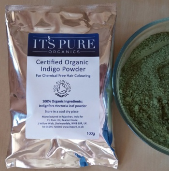 Certified Organic Indigo Leaf Powder