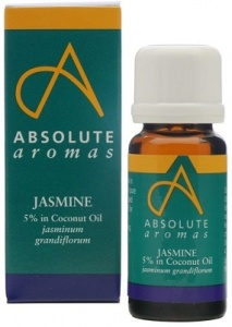 Absolute Aromas Jasmine 5% Dilution in Coconut Oil