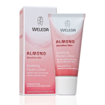 weleda almond face lotion