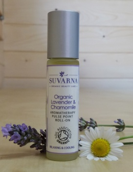 Lavender and Chamomile Aromatherapy Pulse Point Roll-On