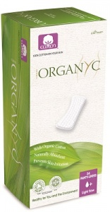 Organyc Panty Liners Light Flow (24)