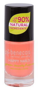 Benecos Happy Nails Nail Polish Peach Sorbet