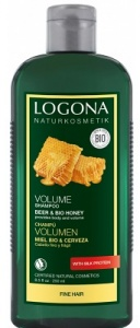 Logona Honey Beer Natural Shampoo